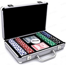 Набор для покера на 200 фишек в кейсе  №702-8