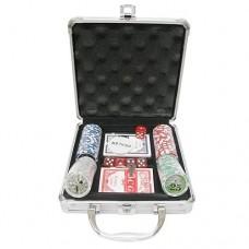 Набор для покера на 100 фишек в кейсе с номиналом №100-N