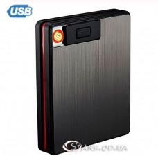 Портсигар 20с. с USB зажигалкой Focus № 051
