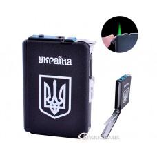 """Портсигар - автомат 10 сигарет с зажигалкой """"Украина"""" № TL-153"""