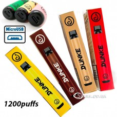 Одноразовая электронная сигарета Danke (1200puffs) с подзарядкой