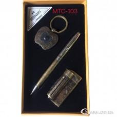 """Подарочный набор """"Moongrass"""" три предмета № MTC-103"""