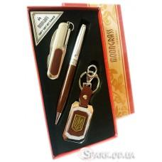 Подарочный набор ручка/брелок/нож № 3-11B
