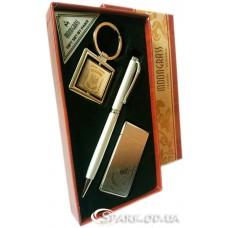 Подарочный набор ручка/брелок/зажигалка № 3-7A