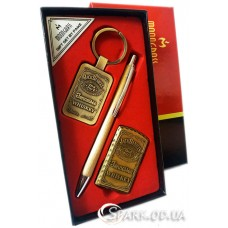Подарочный набор ручка/брелок/зажигалка № 3-9A