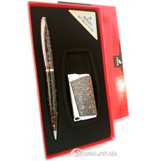 """Подарочный набор """"Moongrass"""" ручка/зажигалка № RJ7183"""