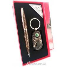 """Подарочный набор """"Moongrass"""" ручка/брелок  № RJ7194"""