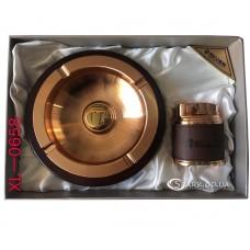 Подарочный набор пепельница и зажигалка № XL-0658