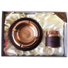Подарочный набор пепельница и зажигалка № XL-0659