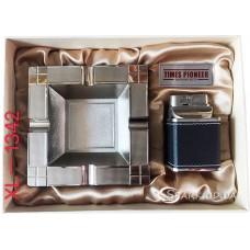 Подарочный набор пепельница и зажигалка Pioneer № XL-1342