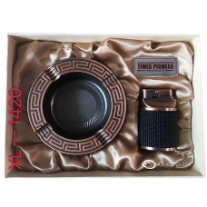 Подарочный набор пепельница и зажигалка Pioneer № XL-1420