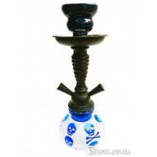 Кальян маленький на две трубки, 30 см. №YR18-9 Синий