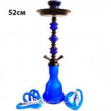 Кальян средний на две трубки, 52 см. №13-33 Синий