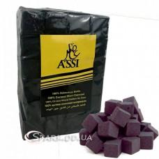 Уголь кокосовый Assi 1кг. 72 кубика (крупный)