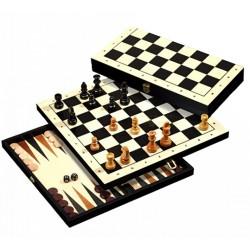 Шахматы + шашки + нарды. Шахматы