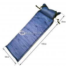 Самонадувающийся туристический коврик (матрас) №14-1