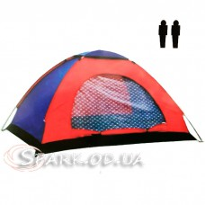 Палатка 2-х местная  №14-14 (200*135*100см)