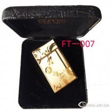 """Подарочная зажигалка """"Futai"""" FT-007"""