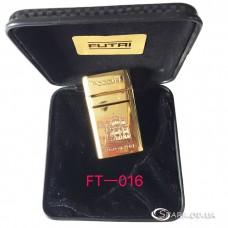 """Подарочная зажигалка """"Futai"""" FT-016"""
