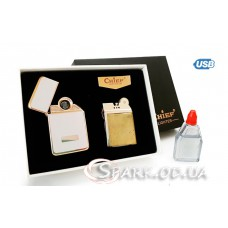 Подарочная USB/бензин зажигалка CF-003