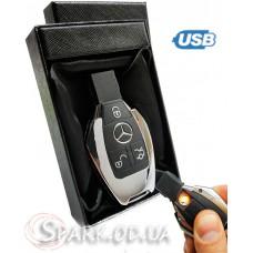 USB зажигалка авто ключ Mersedes  № 33300