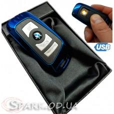 USB зажигалка авто ключ BMW  № 33301