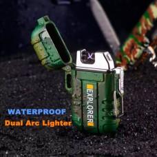 Зажигалка USB импульсная  № YR 4-6