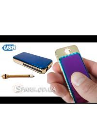 USB зажигалка/бензиновое огниво № ZCA11 2в1