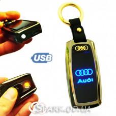 "USB-зажигалка/авто ключ/ фонарь № 1-64 ""Ауди"""