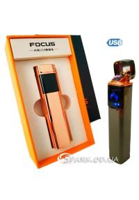 Зажигалка USB импульсная Focus № 33343