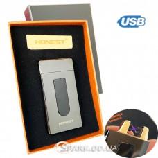 """Зажигалка USB импульсная  """"Honest"""" № 475-1"""