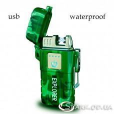 Зажигалка USB импульсная  №  JL 317