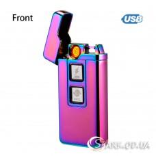Зажигалка USB 2-х режимная спираль/импульс № 172