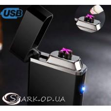 Зажигалка USB импульсная  № YR 4-11