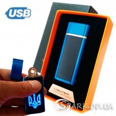 "USB зажигалка сенсорная №YR 8-19 ""Ukraine"""