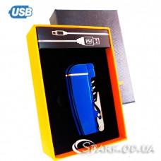 USB-зажигалка/мультинож импульсная № AW 823