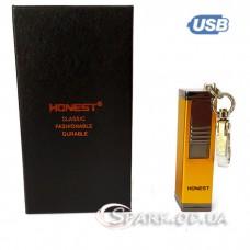 "USB зажигалка/брелок/пепельница ""Honest"" BCZ453-1"