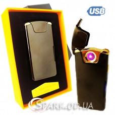 USB зажигалка импульсная/круговая дуга № 415