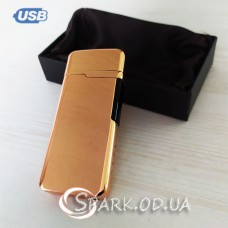 USB зажигалка импульсная/круговая дуга № 420