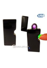 USB зажигалка импульсная/круговая дуга № 424