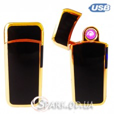 USB зажигалка импульсная/круговая дуга № 431