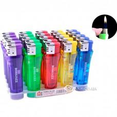 Многоразовая пластиковая зажигалка № 168-T