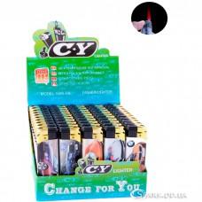Многоразовая пластиковая зажигалка № 588-30