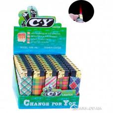 Многоразовая пластиковая зажигалка № 588-33