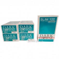 """Гильзы """"Dark Horse Slim 100"""" (ящик-100шт.) Ментол"""