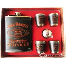"""Набор с флягой 9oz """"Jack Daniels"""" № 10N-20"""