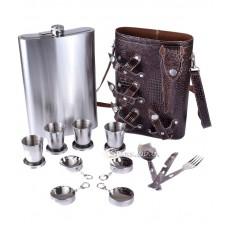 Фляжка-сумка 64oz/4 стакана/ложка-вилка-нож №YR 8-7