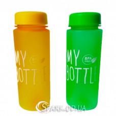 """Бутылка для фитнеса My Bottle """"матовая"""""""