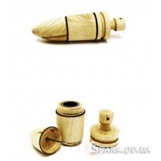 """Колпак деревянный разборной """"Пуля"""""""