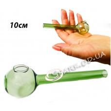Трубка стеклянная курительная  № 2-1 10см.
